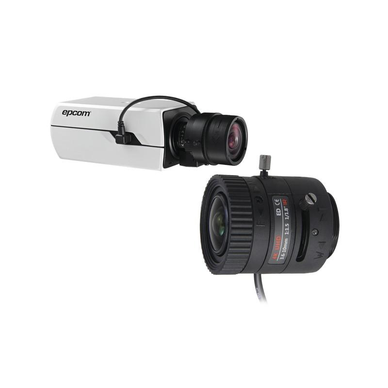 036ddc9850 ... Cámaras y DVRs HD TurboHD / AHD / HD-TVI / Profesionales - Caja /  BX4KTURBOSYS – Syscom – Kit de Camara Epcom Tipo Box 4K y Lente 4K de 3.6 a  10 mm